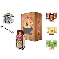Hộp quà tặng cafe hạt dẻ 6 món