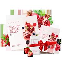 Viên Uống Hỗ Trợ Trắng Da Cải Thiện Nám Hanvely Nature White Diary Hộp 30 viên + Hộp 10 viên + Nước hoa cô bé H.A.N