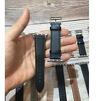 Dây đeo dùng cho  Apple Watch Da cao cấp thời trang