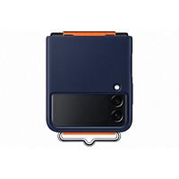 Ốp lưng Samsung Galaxy Z Flip3 Silicone - Cover with Strap - Hàng chính hãng