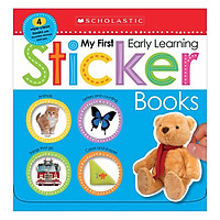 My First Early Learning Sticker Books Boxset