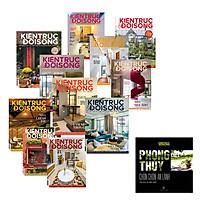 Tạp chí Kiến Trúc và Đời Sống bộ 2019