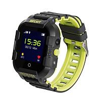 Đồng hồ thông minh định vị trẻ em Wonlex KT03 (Màu đen) Hàng Chính Hãng - Tặng vòng tay Ruby