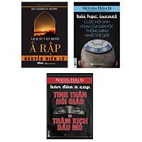Combo Bộ Sách Lịch Sử Thế Giới Ả Rập ( Bộ sách lịch sử đặc sắc nhất của dịch giả Nguyễn Hiến Lê ) (Tặng Bookmark độc đáo CR)