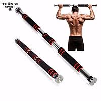 Thanh tập xà đơn treo tường gắn cửa nhiều cỡ từ 60-130cm kích thước có thể tùy chỉnh phù hợp tập gym tại nhà tăng cơ bắp