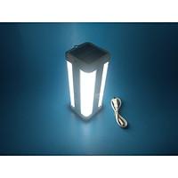 Đèn Pin Led Sạc ND-8002S Tích Điện Từ Năng Lượng Mặt Trời-Giao màu ngẫu nhiên
