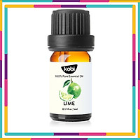 Tinh Dầu Chanh Sần Kobi Lime Essential Oil Giúp Giảm Căng Thẳng, Ngăn Ngừa Lão Hóa, Chống Nhiễm Trùng Hiệu Quả - 5ml
