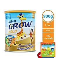 Sữa Bột Abbott Grow Gold 3+ (900g) - Tặng Bộ Đồ Chơi Làm Vườn Grow