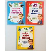 Combo 3 cuốn Lời Nhắn Nhủ Từ Carnegie Dành Cho Thanh Thiếu Niên : 24 Bí Quyết Dẫn Dắt Bạn Tới Thành Công + 34 Bí Quyết Giúp Bạn Khéo Ăn Nói  +24 Bí Quyết Để Bạn Được Yêu Quý