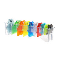 10PCS Hair Clipper Combs Guide Kit Multi-color Magnetic Plastic Hair Trimmer Guards Attachments Hair Salon Tool