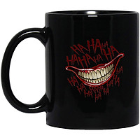 Cốc Sứ Cao Cấp In họa tiết Nụ cười của Joker's