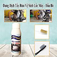 100ML - Dung Dịch Tẩy Rửa Vệ Sinh Lốc Máy Đầu Bò Cực Mạnh - Tặng 1 bàn chải sợi đồng + 1 bàn chải BOSSI