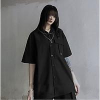Áo SƠ MI ILLUMINATI Unisex N7 Basic Nam Nữ tay lỡ Oversize form rộng mùa hè phong cách Hàn Quốc Ullzang