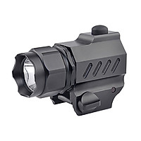 L-ED T-actical HandGun Torch Lamp P-istol Flashlight 230LM 2 Working Modes for Shooting Fishing Cycling Hiking Training
