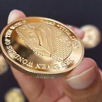 Bộ 7 đồng xu kỷ niệm 7 kỳ quan Thế Giới