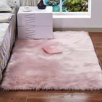 Thảm lông phòng ngủ cao cấp
