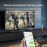 Bộ thu hiển thị Wifi Xiaomi Hagibis 2.4G / 5G 4K Tương thích với HDMI có dây / không dây
