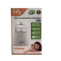 Máy hâm sữa 2 bình cổ rộng Fatzbaby Duo 1 FB3012SL