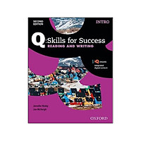Q Skills for Success: Intro Level: Reading & Writing Student Book with IQ Online