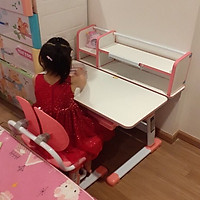 Bộ bàn học thông minh chống gù cho bé mã DRZ-303