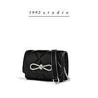 Túi xách nữ 1992 s t u d i o / SEINE BAG/ mini size dây xích phối da