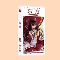 Postcard Touhou Project Dự án Phương Đông hộp ảnh có sticker dán lomo bưu thiếp tặng thẻ Vcone