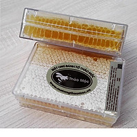 Mật Ong Bánh Tổ Thảo Mộc Hộp 600gr Loại Hoa Rừng Honeycomb