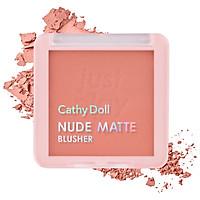 Phấn má hồng Cathy Doll Nude Matte Blusher 6g
