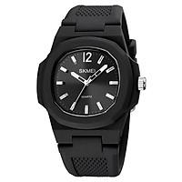 SKMEI Men Quartz Watch Concise Male Wristwatch Accurate Time 5ATM Water Resistant Sports Watch Male Fashion Wristband