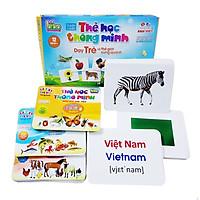 Thẻ Học 12 Chủ Đề Size Lớn Phát Triển Trí Tuệ Cho Bé Bé Yêu
