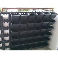 Bộ khung chậu vườn tường (1m2 - 12 bộ)