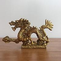 Tượng Rồng bằng đồng thau cỡ nhỏ