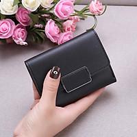 Bóp ví nữ đựng tiền mini gấp 3 bỏ túi giá siêu rẻ, da PU mềm mại, nhiều ngăn chứa thẻ ATM và tiền tiện dụng dùng cho nữ