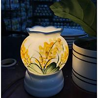 Đèn Xông Tinh Dầu Miệng Hoa