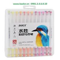 Bút màu Marker 24 màu D289-24