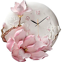 Đồng hồ treo tường lan hương hồng