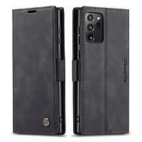 Bao da thật dạng ví chính hãng Caseme dành cho Samsung Galaxy Note 20 Ultra - Hàng chính hãng