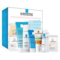 Bộ sản phẩm chống nắng và chăm sóc toàn diện cho da dầu-mụn nhạy cảm La Roche Posay