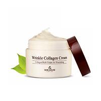 Kem collagen giúp giảm nhăn và săn chắc da