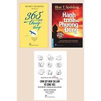 Combo 3 Cuốn Kỹ Năng Sống: 365 Ngày Thong Dong + Hành Trình Về Phương Đông + Chín Suy Nghĩ Sai Lầm Về Công Việc (Bộ Sách Thú Vị Về Cuộc Sống và Tâm Lý Cá Nhân)