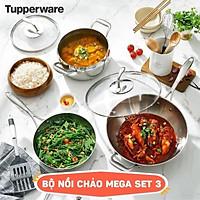 Bộ Nồi Chảo T Chef Series Mega Set 3