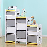 Tủ đồ chơi 12 ngăn cho bé tự sắp xếp, đồ chơi, sách vở, đồ dùng