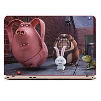 Miếng Dán Trang Trí Decal Laptop Animal Cartoon DCLTDV 189