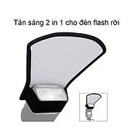 Tản sáng 2in1 cho đèn Flash rời