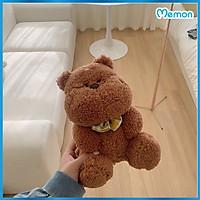 Gấu Bông Má Bự Lông Mềm Cao Cấp Memon