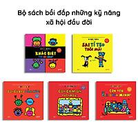 Bộ 5 cuốn Bé xíu bé xiu - Todd Parr - Bồi đắp những kỹ năng xã hội đầu đời - Crabit Kidbooks