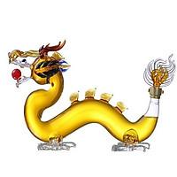 Vỏ chai thủy tinh hình con rồng