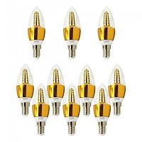 Bóng đèn Led nến 5w quả nhót đuôi E14 sáng vàng ấm Posson LCP-5E14G