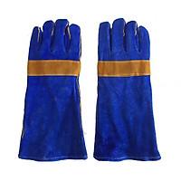Găng tay da hàn Pháp 2 lớp