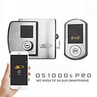 Khóa cửa vân tay zigbee cao cấp điều khiển từ xa qua điện thoại DS1000S PRO